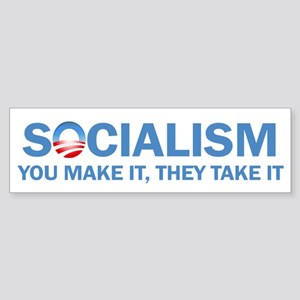 Socialism Sticker (Bumper)
