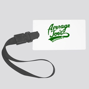AJs Green Large Luggage Tag
