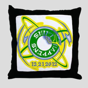 Shift Happens 12.21.2012 Throw Pillow