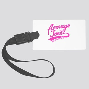 Ajs Pink Large Luggage Tag
