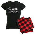 Celtic Proud Logo Women's Dark Pajamas