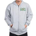 Celtic Proud Logo Zip Hoodie