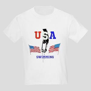 USA SWIMMING Kids Light T-Shirt