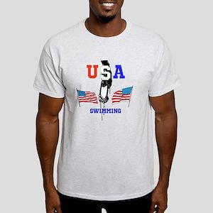 USA SWIMMING Light T-Shirt