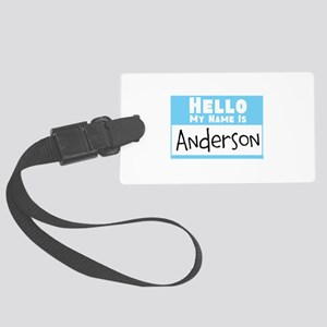 Personalized Name Tag Large Luggage Tag