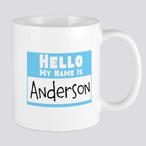 Personalized Name Tag Mug