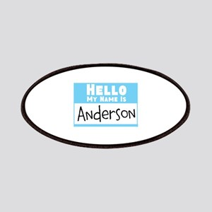 Personalized Name Tag Patches