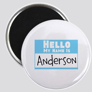 Personalized Name Tag Magnet