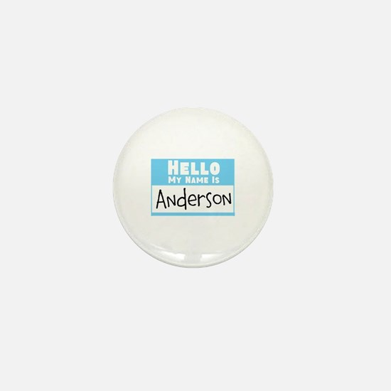 Personalized Name Tag Mini Button