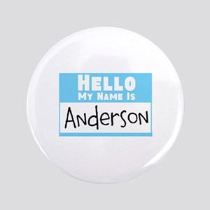 """Personalized Name Tag 3.5"""" Button"""