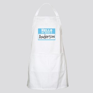 Personalized Name Tag Apron