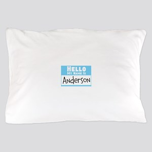 Personalized Name Tag Pillow Case