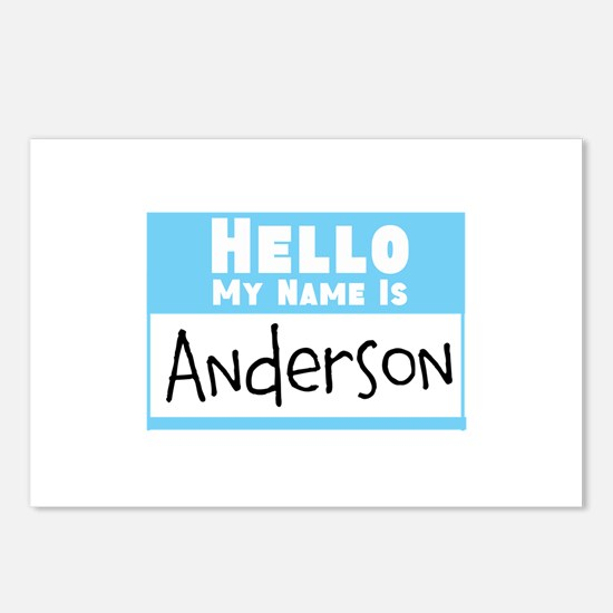 Personalized Name Tag Postcards (Package of 8)