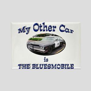 Bluesmobile Rectangle Magnet