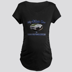 Bluesmobile Maternity Dark T-Shirt