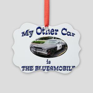 Bluesmobile Picture Ornament