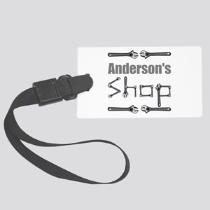 Personalized Shop Large Luggage Tag
