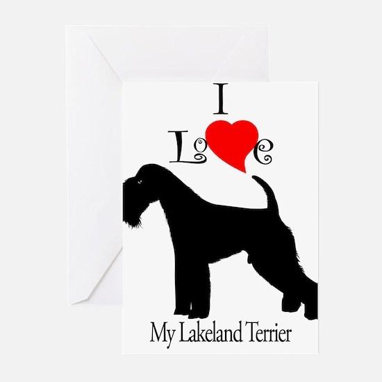 Lakeland Terrier Greeting Cards (Pk of 10)