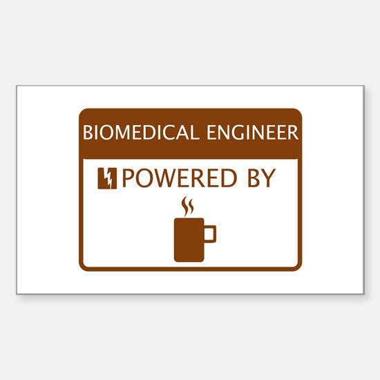 Biomedical Engineer Powered by Coffee Decal