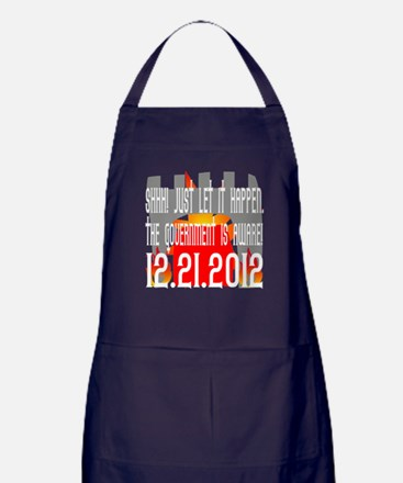 The Government Is Aware 12.21.2012 Apron (dark)
