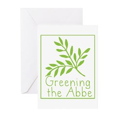 Greening the Abbe Greeting Cards