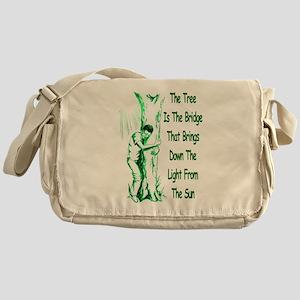 Tree Bridge Messenger Bag
