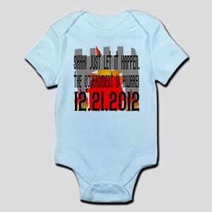 The Government Is Aware 12.21.2012 Infant Bodysuit