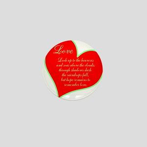 TheEulogyWeb: Love design #10 Mini Button