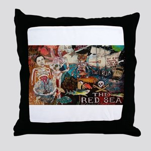 Kali Kat Throw Pillow