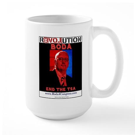 End the TSA Large Mug