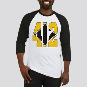 412 Gold/Black-W Baseball Jersey
