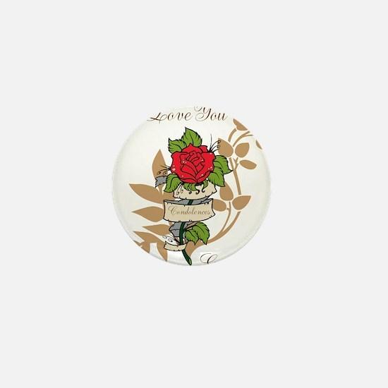 TheEulogyWeb: I Love You design #11 Mini Button