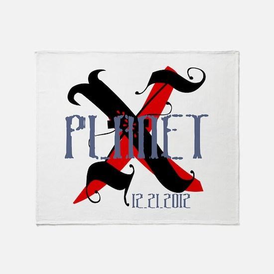 Planet X 12.21.2012 Throw Blanket
