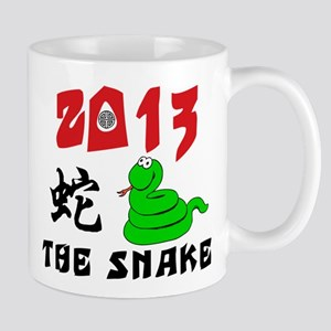 Cute Year of The Snake 2013 Mug