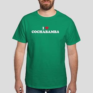 I Love Cochabamba Dark T-Shirt