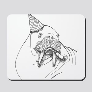 Party Walrus Mousepad