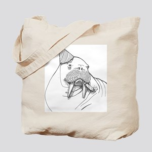 Party Walrus Tote Bag