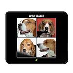 Let It Beagle Mousepad