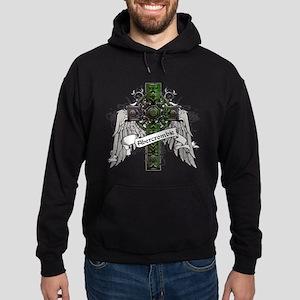 Abercrombie Tartan Cross Hoodie (dark)