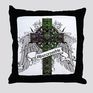Abercrombie Tartan Cross Throw Pillow