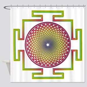 7th Chakra Shower Curtain