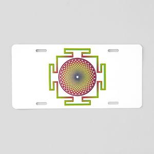 7th Chakra Aluminum License Plate