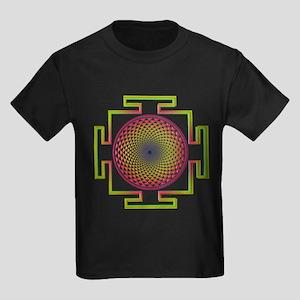 7th Chakra Kids Dark T-Shirt