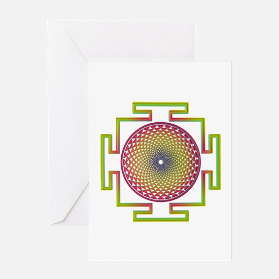 7th Chakra Greeting Card