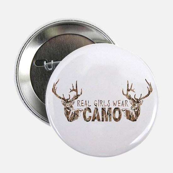 "REAL GIRLS WEAR CAMO 2.25"" Button"
