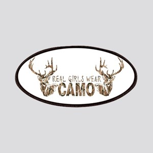 REAL GIRLS WEAR CAMO Patches