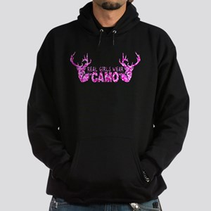 REAL GIRLS WEAR CAMO Hoodie (dark)