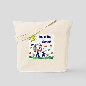 I'm a Big Sister Tote Bag