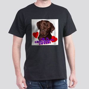 chocolate lover portrait T-Shirt