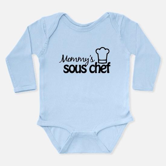Mommy's Sous Chef Long Sleeve Infant Bodysuit